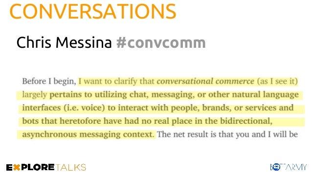 CONVERSATIONS Chris Messina #convcomm