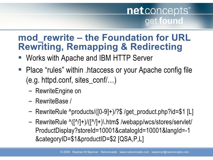 URL Rewrite Module Configuration Reference
