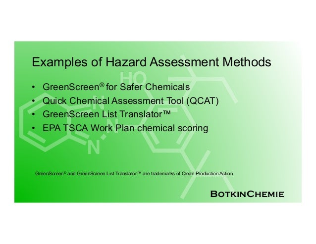 Presentation: Substitution of Benzotriazole UV Absorbers in Plastics