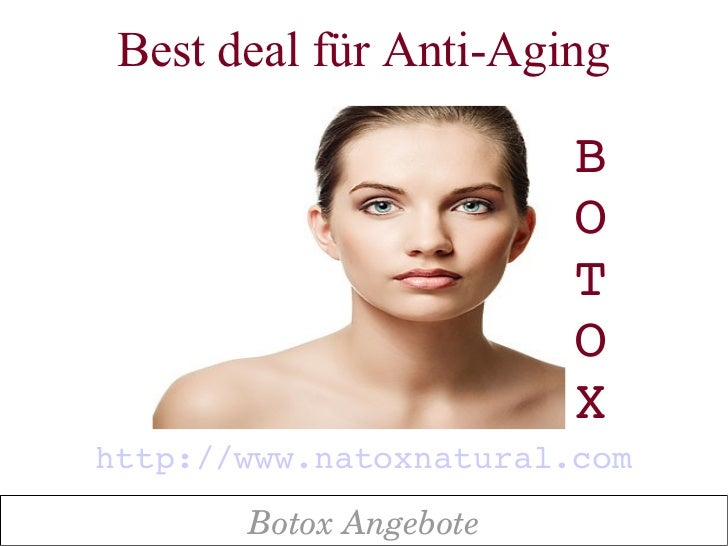 Best deal für Anti-Aging                        B                        O                        T                       ...