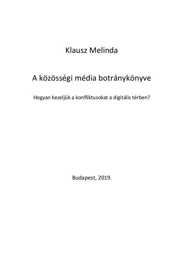 A közösségi média botránykönyve - előnézet