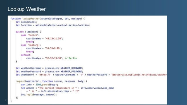 Writing Slack Bots in JavaScript