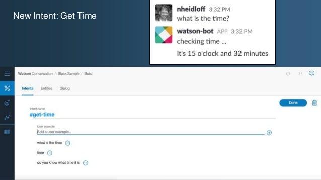 @ansi @nheidloff New Intent: Get Time