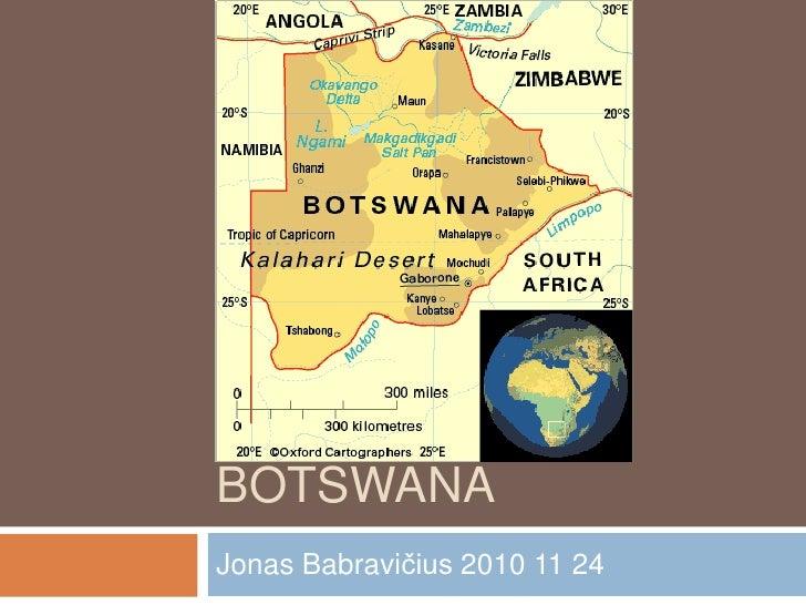 Botswana<br />Jonas Babravičius 2010 11 24<br />