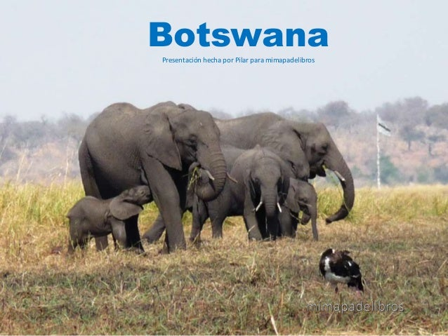 BotswanaPresentación hecha por Pilar para mimapadelibros