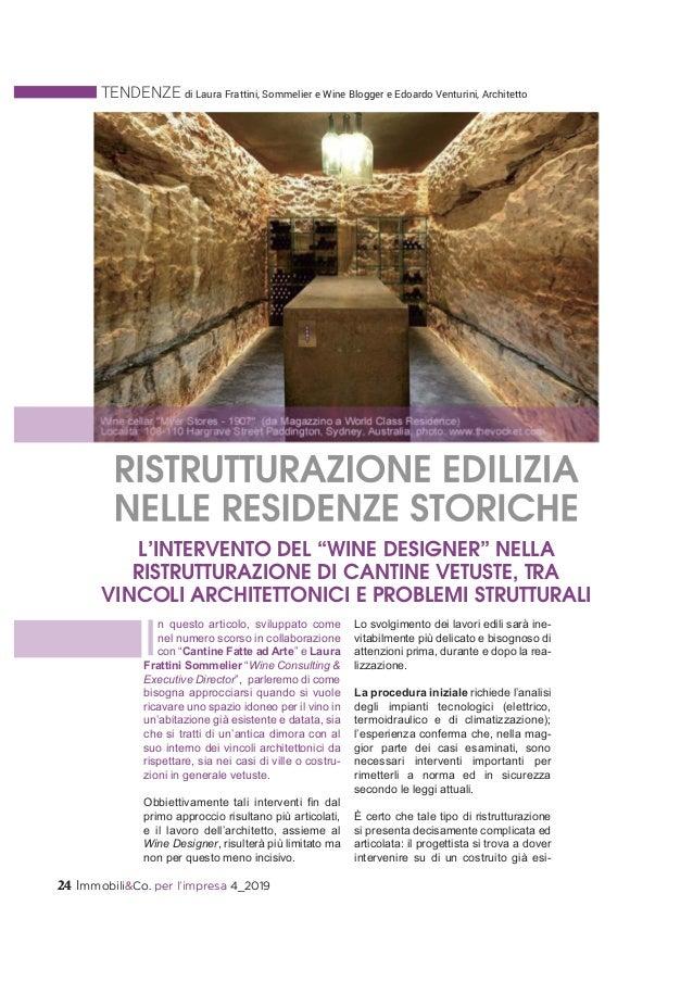24 Immobili&Co. per l'impresa 4_201924 Immobili&Co. per l'impresa 4_2019 TENDENZE di Laura Frattini, Sommelier e Wine Blog...