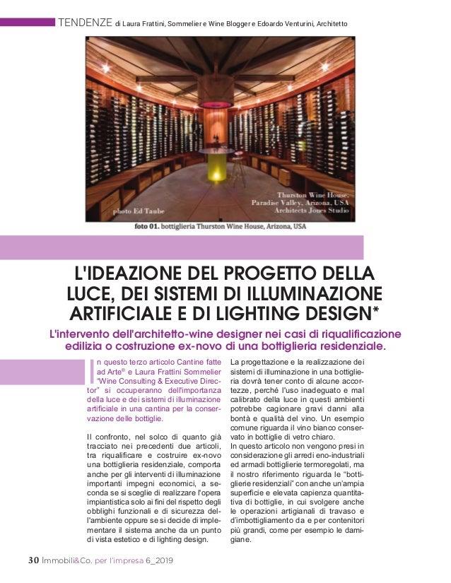 30 Immobili&Co. per l'impresa 6_2019 TENDENZE di Laura Frattini, Sommelier e Wine Blogger e Edoardo Venturini, Architetto ...