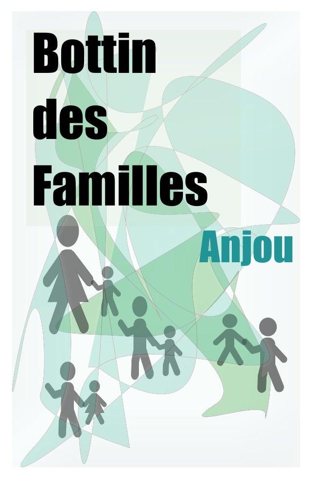 Anjou Bottin des Familles