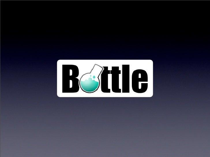 Bottle - Python Web Microframework Slide 2