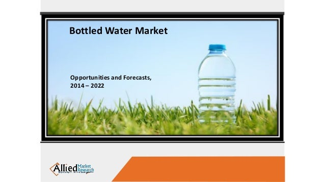 Global and china bottled water industry
