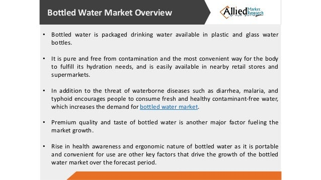 a look at the bottled water industry But some players in the burgeoning bottled water industry see you as simply buying  fiji and the new-look evian,  the sydney morning herald contact & support.