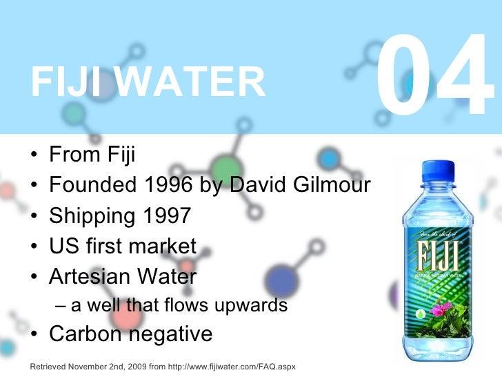 Fiji water uni presentation sciox Gallery