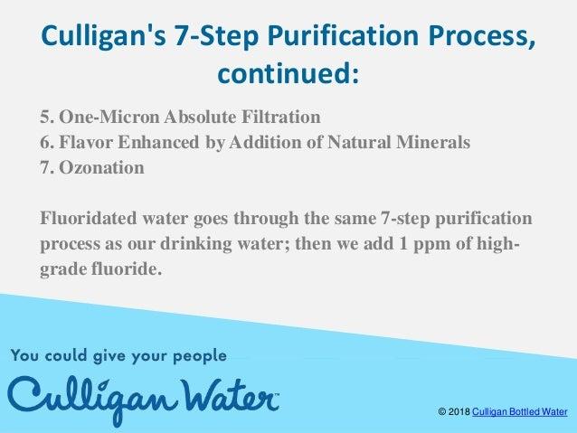 Bottled Water Purification Process