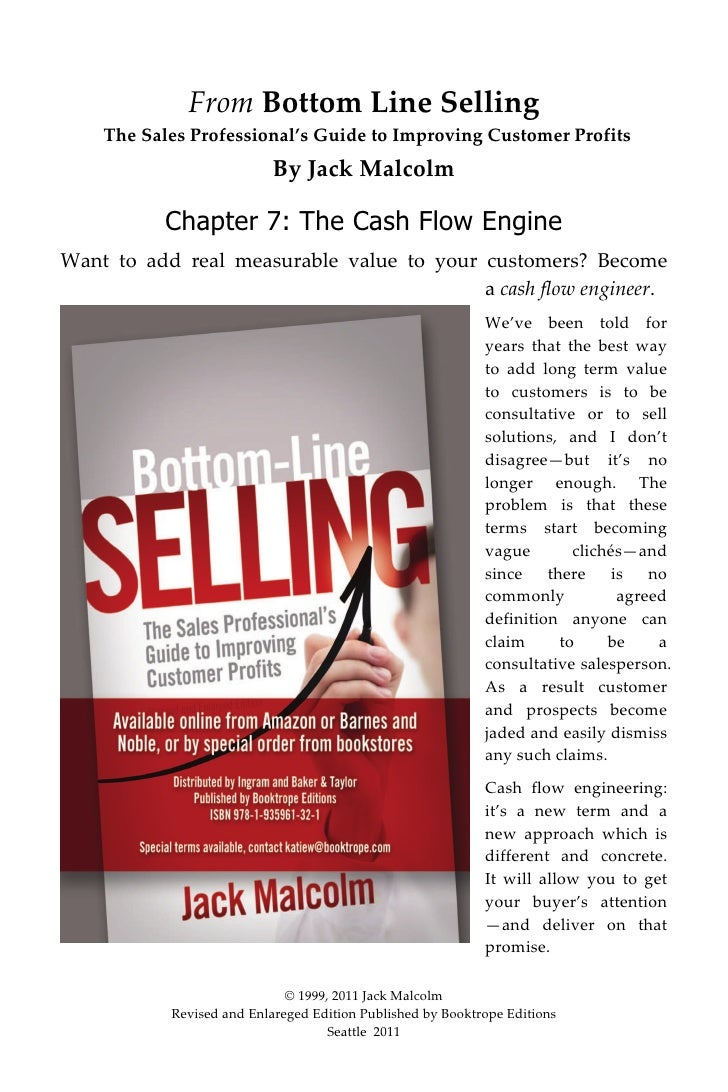 From Bottom Line Selling      The Sales Professional's Guide to Improving Customer Profits                              By...