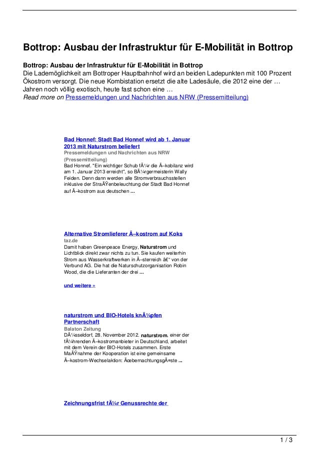 Bottrop: Ausbau der Infrastruktur für E-Mobilität in BottropBottrop: Ausbau der Infrastruktur für E-Mobilität in BottropDi...