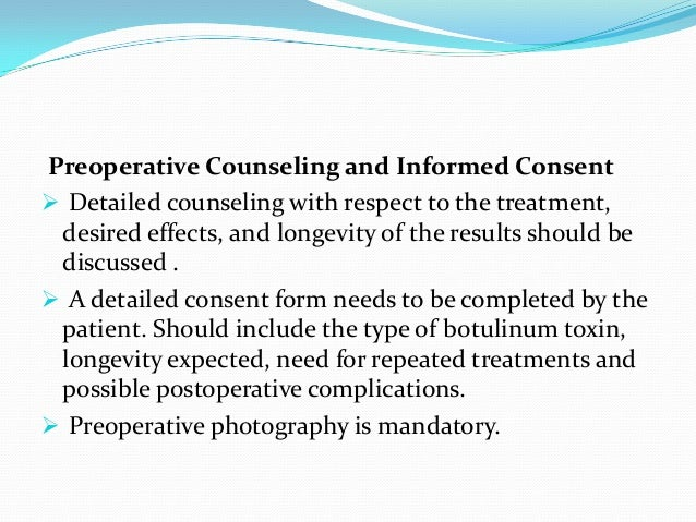 Botulinum toxin in dermatology ppt
