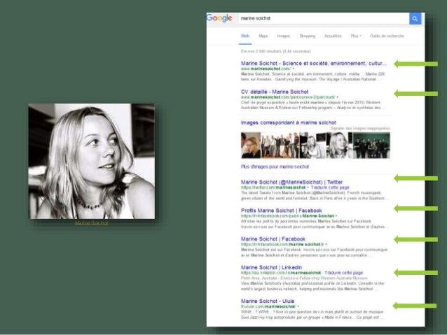 Être visible sur internet : l'identité numérique du chercheur