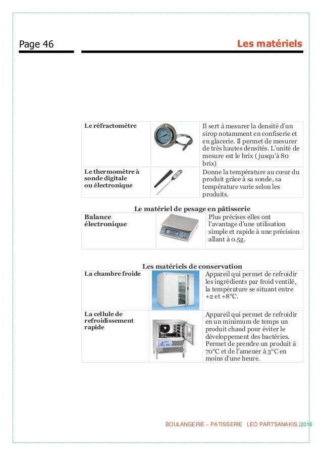 Boulangerie p tisserie for Appareils cuisine professionnels