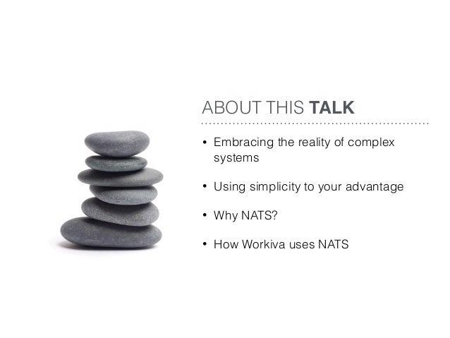 Simple Solutions for Complex Problems - Boulder Meetup  Slide 2