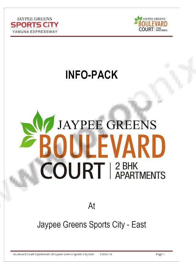 Jaypee Greens Boulevard court