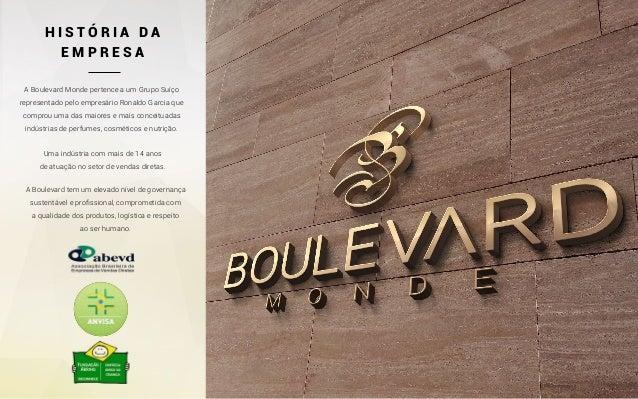Plano de Marketing Boulevard Monde Slide 2