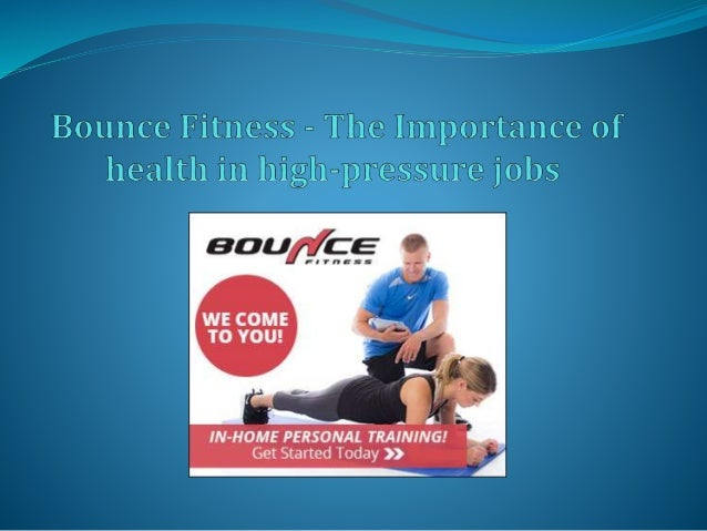  Bounce fitness is one such health and well-being company based in the Washington D.C. That holds this philosophy to be t...