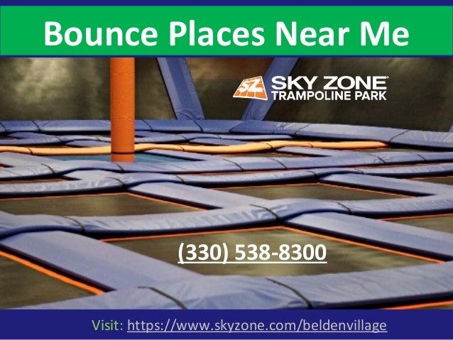 Visit: https://www.skyzone.com/beldenvillage Bounce Places Near Me (330) 538-8300