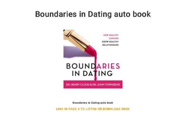 boundaries and dating book