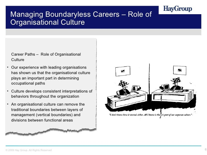 boundaryless career The boundaryless career concept widens our perspective toward a range of possible career forms both within and across organizations read more here.