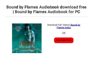Bound By Flames PDF Free Download