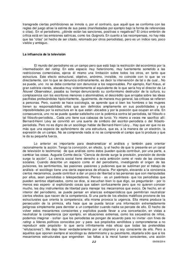 Sobre A Televisao Pierre Bourdieu Pdf