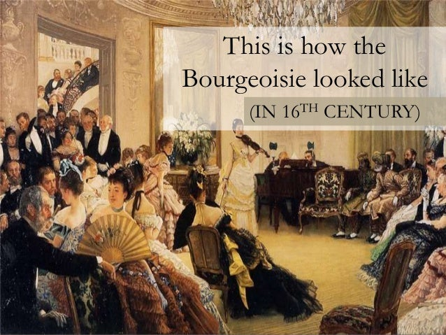 Bourgeoisie - Bourgeois house definition ...