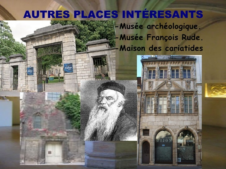 DIJON CULTUREL Le  musée des Beaux-Arts de Dijon  est installé dans l'ancien palais des Ducs de Bourgogne, oú se loge auss...