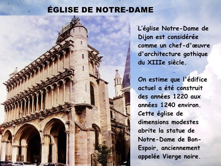 Realice una comparación precio/calidad con la competencia </li></ul>Dijon monumental CATHÉDRALE DE ST. BENIGNE Commencé en...