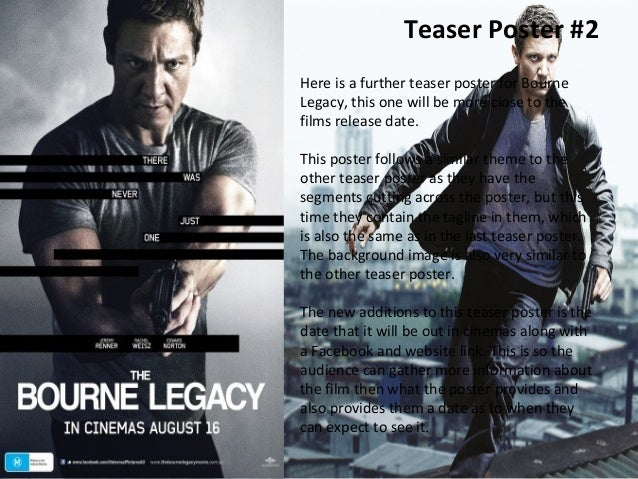Bourne Legacy Movie Poster