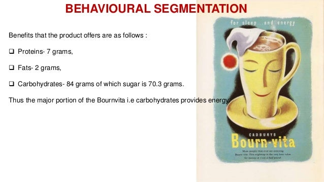 marketing segmentation by bournvita Definition of market segment: an identifiable group of individuals,  market segments generally respond in a predictable manner to a marketing or promotion offer.