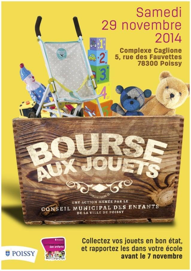 Bourse aux jouets du 29 novembre 2014