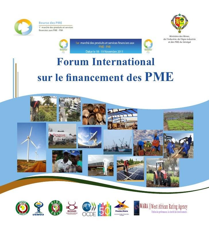 Bourse des PME1er marché des produits et servicesfinanciers aux PME - PMI                                             Mini...