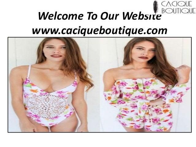 Welcome To Our Website www.caciqueboutique.com