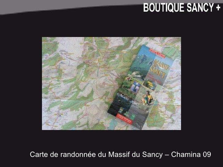 Carte de randonnée du Massif du Sancy – Chamina 09