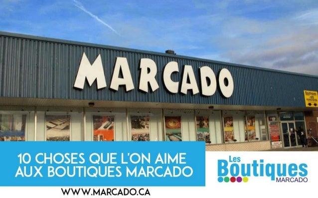 Boutiques Marcado: Marché aux puces et Centre Commercial rive-sud de Montréal