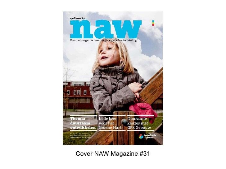 Cover NAW Magazine #31