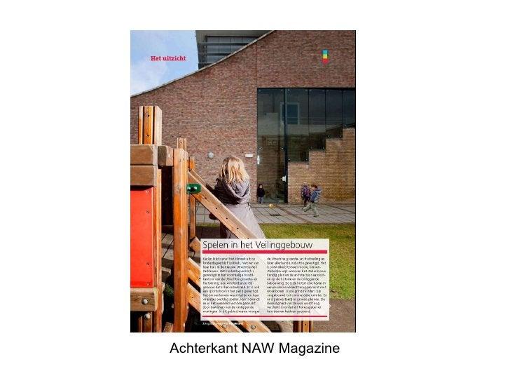 Achterkant NAW Magazine