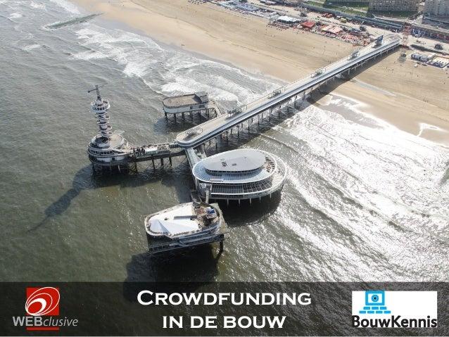 Crowdfunding in de bouw