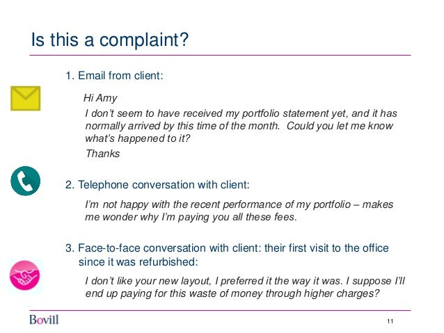 Bovill briefing will minor complaints become a major issue 11 ccuart Choice Image