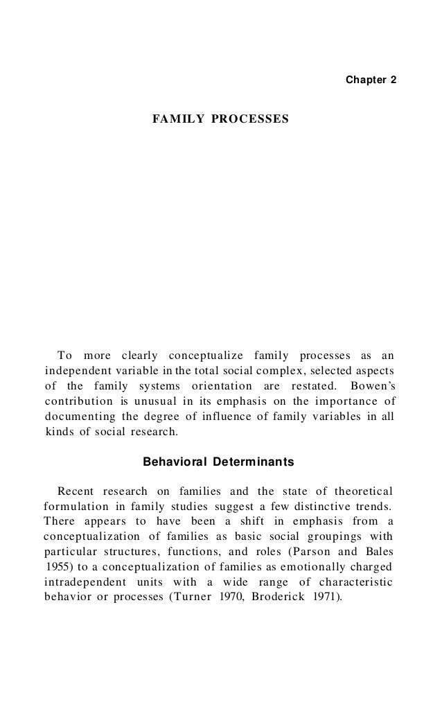 Family Processes 33 Pairs with Sim ilar Backgrounds and D ifferent Functioning Levels 1. Individuals from the same ethnic ...