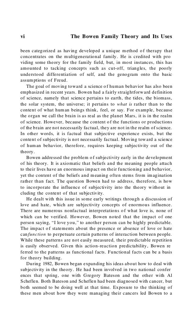 Foreword vii ninth concept in the theory, a concept about which he did several pre sentations, but none were ever written...