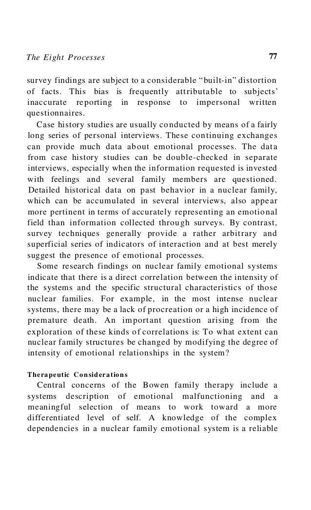 Bowenfamilytheory