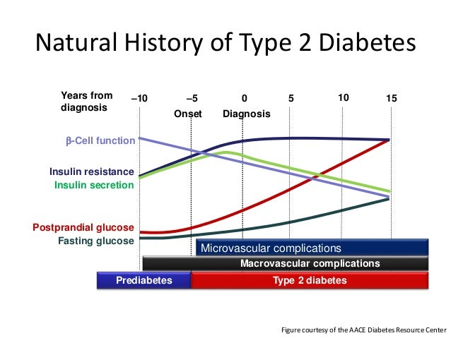 Aace Natural History Of Diabetes