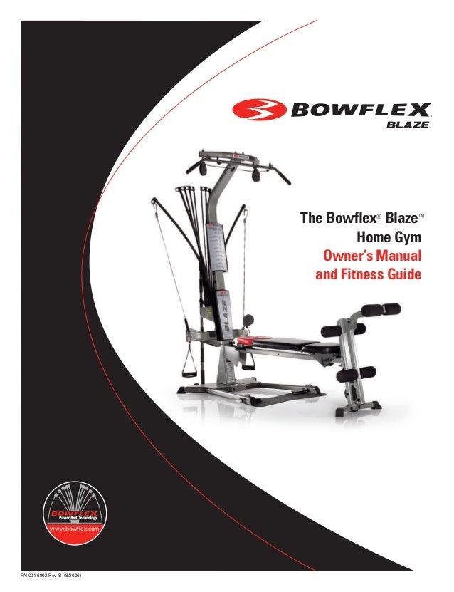 bowflex blaze workouts and manual rh slideshare net Bowflex Revolution Disassembly Bowflex Revolution Disassembly